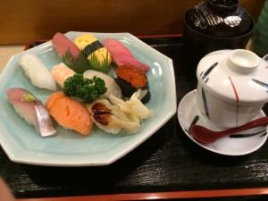 名古屋駅近くの寿司屋さん